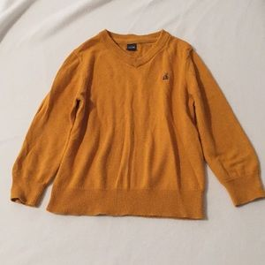 Baby gap mustard sweater